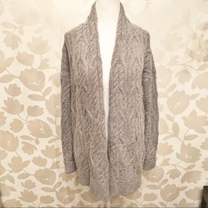 Ann Taylor Braided Cardigan